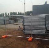 clôture provisoire galvanisée parAustralie de 1800X2400mm avec le support