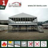 Pvc Twee Tent van de Partij van het Huwelijk van het Dek van de Verdieping de Dubbele als VIP Catering
