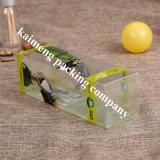 Estampado en caliente PET transparente de plástico Cajas de almacenamiento