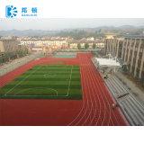 Synthetic híbrido/trilha Running plástica para o campo de esportes, trilhas atléticas