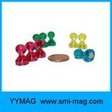 Heißer Verkauftransparentes Pin-Kühlraum-Magnet-Neodym