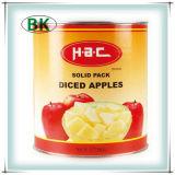Ingeblikte Appelen in Havles/Plakken (HACCP, ISO, BRC, FDA)