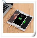 Câble de remplissage de câble téléphonique de caractéristiques d'USB pour le téléphone cellulaire