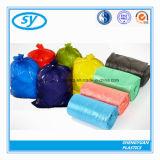 PEの物質的で多彩なプラスチックごみ袋