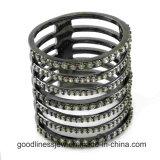 Beste Verkaufs-Form-Damen 925 silberner CZ-Stein-Ring R10550