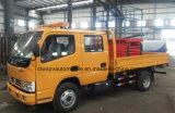 Dongfeng 4*2 두 배 택시는 고도 작동되는 트럭을 가위로 자른다