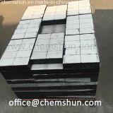 Abnützung-keramische Zwischenlage gebildet als keramische Abnützung-Gummiplatte (Größe 300*300mm, 500*500mm)