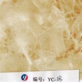 Yingcai 1m Breiten-gelbe Ader-Schwarz-Marmor Hydrodipping Film