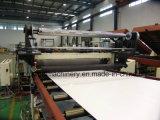Cadena de producción de imitación colorida plástica de la tarjeta del PVC del mármol
