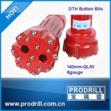 Bocados da missão 85mm-482mm DTH do SD da bobina de DHD Ql