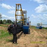 Uso in draga di aspirazione della taglierina del Mali 8inch per estrazione dell'oro