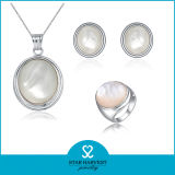 2015 nuovo Come Luxury Shell Silver Jewelry per Ladies (J-0127)