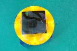 Предупредительный световой сигнал конуса движения солнечный пластичный с анкером