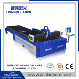 Máquina de estaca do laser da fibra da tabela da canela de Lm4020A com para metal de folha