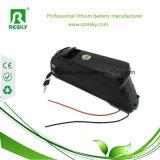 24V 12ah Lithium-Ionenbatterie mit kleinem Frosch-Typen für elektrisches Fahrrad, E-Fahrrad