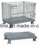 쌓을수 있는 접힌 철망사 저장 감금소 (1000*800*840)