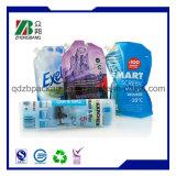 包装袋、プラスチックは立てる口が付いている袋を印刷した
