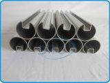 Tubi quadrati saldati dell'acciaio inossidabile con la scanalatura