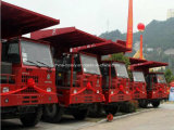 Sinotruk 40 톤 HOWO 전사 광업 쓰레기꾼 트럭