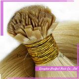 Cabelo liso da queratina da ponta 100s Remy da queratina do cabelo