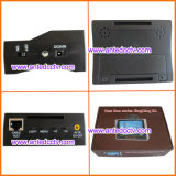 Monitor análogo do verificador da segurança do CCTV do pulso com 3.5 polegadas TFT LCD