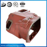 OEMのカスタム鋳鉄は型の砂鋳造のトラクター伝達のためのエンジンによって取付けられる変速機ハウジングを停止する