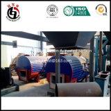 オリーブ色のカーネルシェルによって作動するカーボン機械装置のためのギリシャのプラント