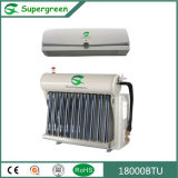 18000BTU de hybride Muur Opgezette Airconditioner van de Omschakelaar van gelijkstroom Zonne