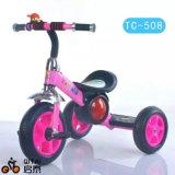 エヴァの車輪が付いている中国の工場卸売の鉄骨フレームの子供の三輪車