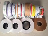 Bande estampée sur papier d'emballage de qualité faite sur commande