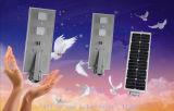 Luz de calle solar de la lámpara del jardín de la luz del modo ahorro de energía solar blanco puro LED de la potencia