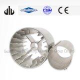 L'alluminio anodizzato di precisione ha estruso alluminio industriale 7075 condutture della lega