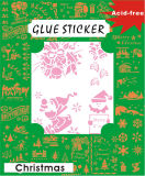 DIY Flower Glue Sticker para Decoration GS202
