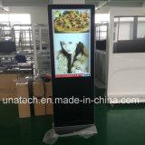 床の立場のWiFi人間の特徴をもつデジタルの表記屋内LCD Ad/Ads/Advertizing媒体の表示