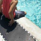 Esteras resistentes del suelo de la piscina de la nadada del resbalón plástico al aire libre del PVC