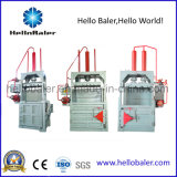 Вертикальная машина Baler рециркулируя неныжную бумагу, бутылки любимчика, используемые одежды