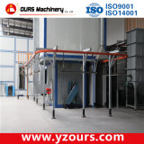 Terminar Powder Coating Line com Auto/Manual Paint Gun