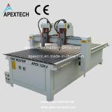 Machine de découpage en aluminium de commande numérique par ordinateur et la publicité du routeur de commande numérique par ordinateur (chefs d'APEX 1325-2)