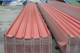 Feuille ondulée de toiture de PVC de poids léger