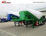 Nuovi 60cbm asciugano il rimorchio del serbatoio di trasporto della polvere