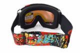 Lunettes de neige de ski de bâti d'impression de Watertransfer avec la lentille de rechange