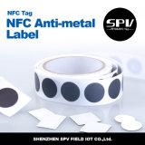 Código Sli ISO15693 RFID de la etiqueta I del animal doméstico del Anti-Metal de NFC