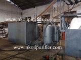 Dell'impianto di rigenerazione del petrolio residuo, macchina nera di derivazione del petrolio