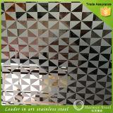 304 Spiegel der Qualitäts-8k und geätztes Edelstahl-Blatt für dekorative Wand-Täfelung