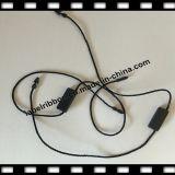 Black Clothing Seal String Plastic (ST009)