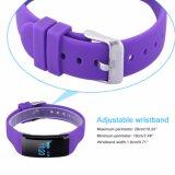 O Wristband esperto Bluetooth do bracelete 4.0 IP68 Waterproof o perseguidor Smartband do esporte do monitor da frequência cardíaca para o Ios Android