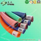 """1/4 """" PVC-Faser geflochtener verstärkter Hochdruckluft-Spray-Schlauch"""
