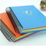 Cahier fait sur commande de cahier d'agenda de papeterie d'OEM avec le crayon lecteur