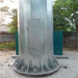 Tour d'arbre de télécommunication camouflée par tube en acier