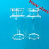 10ml duidelijke Flesjes bij de Dimensies van de Norm van ISO
